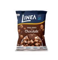 Pipoca Pronta Sabor Chocolate Sem Açúcar Linea 50g -