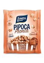 Pipoca Pronta Zero Açúcar sabor Chocolate - 50g - Linea -