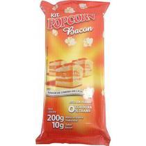 Pipoca Salgada Tradicional Panela - sabor Bacon - Flavored Popcorn