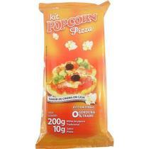 Pipoca Salgada Tradicional Panela - sabor Pizza - Www.Flavoredpopcorn.Com.Br