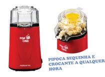 Pipoqueira Elétrica Agratto Pop Cine Ar Quente Vermelho 1200w 127v -