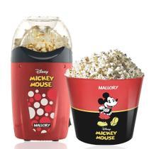 Pipoqueira Elétrica Disney Mickey Mallory +balde Pipoca -