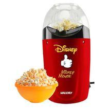 Pipoqueira elétrica econômica Mickey Mouse sem óleo 220 V - Mallory