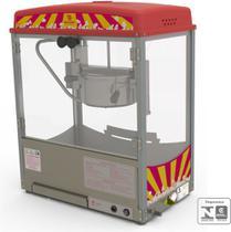 Pipoqueira Elétrica Inox BMP-150 - Selo Inmetro - Braesi -