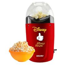 Pipoqueira elétrica Mickey Disney, sem óleo 220 V Economica - Mallory