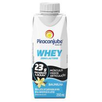 Piracanjuba Whey Zero Lactose Pronto Sabor Baunilha 250ml -