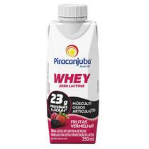 Piracanjuba Whey Zero Lactose Pronto Sabor Frutas Vermelhas 250ml -
