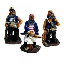 Pirata P Jogo com 3 peças - Decorafast