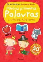 Pirata pedro e princesa polly: minhas primeiras palavras - livro de adesivo - Salamandra