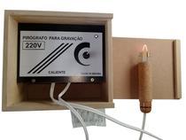 Pirógrafo Para Gravar, Desenhar Em Madeira, Mdf, Isopor 220v - Caliente