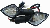 Pisca Led Skull Hornet Fazer Cb300 Xj6 Z750 Twister Par - Serjão parts