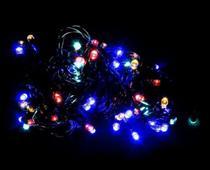 Pisca Pisca Colorido de Led Natal Natalino 100 Lampadas Led Enfeite para decoracao 8 funçoes - 110v - Rio Master