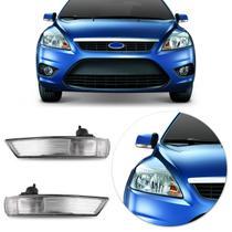 Pisca Retrovisor Ford Focus Hatch Sedan 2008 2009 2010 2011 2012 2013 Cristal - Fitam