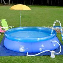 Piscina 4.600 Litros Splash fun Azul - Mor