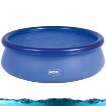 Piscina Circular Azul 2400 Litros Inflavel Mor Redonda -