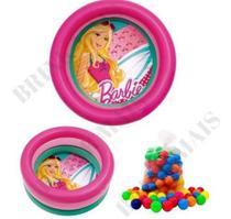 Piscina De Bolinhas Barbie Infantil Com 50 Bolinhas - Fun