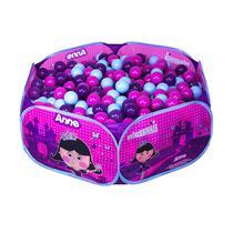 Piscina de Bolinhas Portátil - Princesinha Anne - Unik Toys -