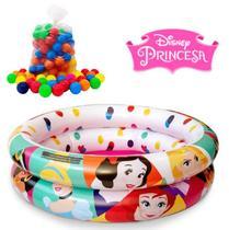 Piscina De Bolinhas Princesa Com 50 Bolinhas 37 Litros Etitoys -