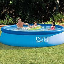 Piscina Easy Set 5621 litros com Bomba Filtro 127V - Intex