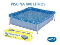 Piscina Estrutural Retangular Mor 400 Litros -