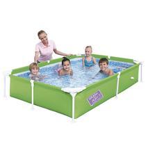 Piscina Frame Pool Infantil Estruturada 1,200 Litros Verde - Bestway -