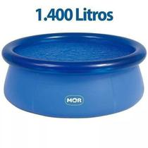Piscina Fun 1400 Litros 1052 Redonda Splash - Mor