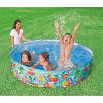 Piscina Infantil 1000 L Ocean Play Intex - 56452 NP SNAPSET Snap Set -