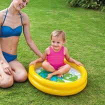 Piscina Infantil Baby 17L Amarela  59409 Intex -