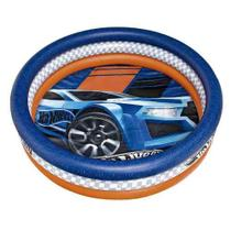 Piscina Infantil Inflável Hot Wheels 135l Fun -