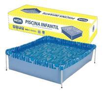 Piscina infantil montável quadrada 400 litros - Mor