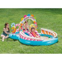 Piscina Infantil Playground Candy Zone 206L Colorida 57149 Intex