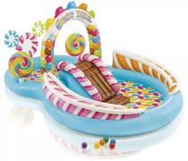 Piscina Infantil Playground Candy Zone Aquático - Intex 5714