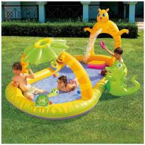 Piscina Infantil Safari Piscina Inflável Splash and Play Bestway