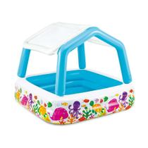 Piscina Infantil Vida Marinha 295L Colorida 57470 Intex