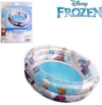 Piscina Inflável 2 Anéis 80cm 70LTS Frozen - 131217 - Etilux