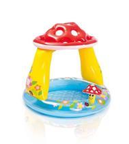 Piscina Inflável Bebes Infantil Cobertura Cogumelo - Intex -