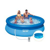 Piscina Inflavel Easy Set 3.853L + Filtro + Capa - Intex