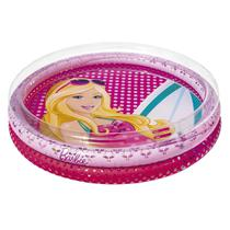 Piscina Inflável Infantil 135 Litros Barbie Fashion 7731-1 Fun