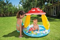 Piscina Inflável Infantil Bebê Intex Cogumelo 57114np -