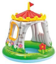 Piscina Inflável infantil c/ cobertura Castelo - Intex -
