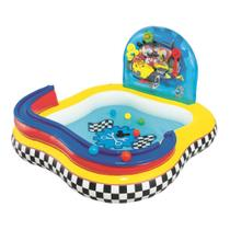 Piscina Inflável Infantil Playcenter Mickey com 6 Bolinhas Bestway -
