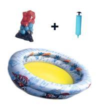 Piscina inflável Mickey 48 L + 50 bolinhas + bomba de ar - Natalplast