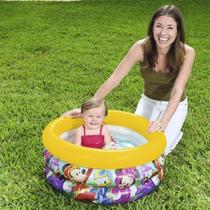 Piscina inflável mickey mouse 38 litros bestway -