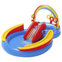 Piscina Inflável Playground Arco Iris 227 Litros - Intex -