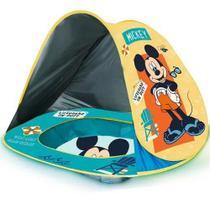 Piscina Portatil Praia Mickey Mouse Tenda Com Proteção Uv Zippy Toys -