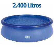 Piscina Redonda 2400 Litros Inflável Splash Fun Mor -