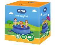 Piscina Splash Fun 2400 litros MOR - Borda Inflável -