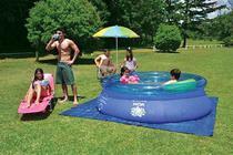 Piscina Splash Fun 2400 litros - Mor -