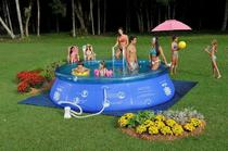 Piscina splash fun ø3,90mx90cm-9000l mor