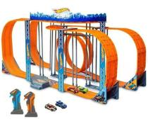 Pista Carrinho Controle Hot Wheels 1300cm Track Set Slot Car Zero Gravity - Multikids -
